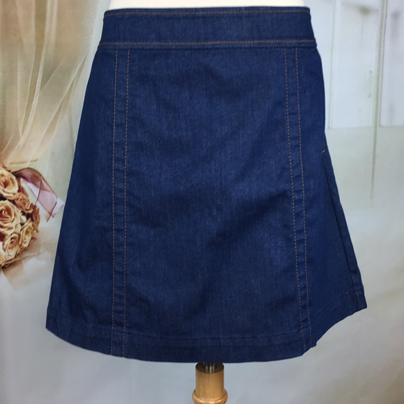 LOFT Dresses & Skirts - Loft Denim A-line Skirt